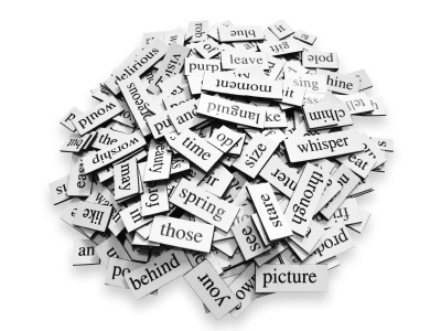 BLOG- word magnets