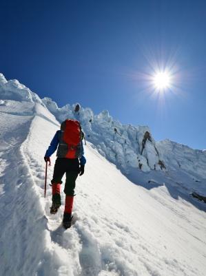 BLOG- snowy mountain climber