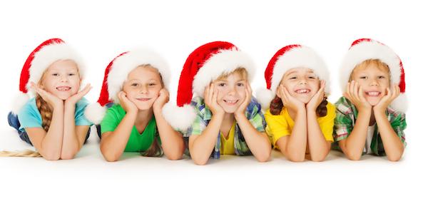 Kids Santa Hats2