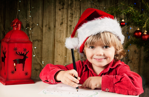 EMAIL Letter to Santa