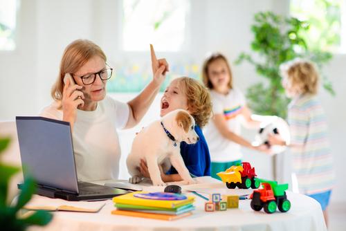 homeschooling chaos